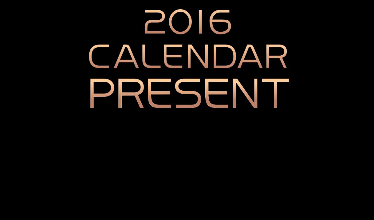 【先着100様限り】2016年ZERO特製オリジナルカレンダープレゼント!