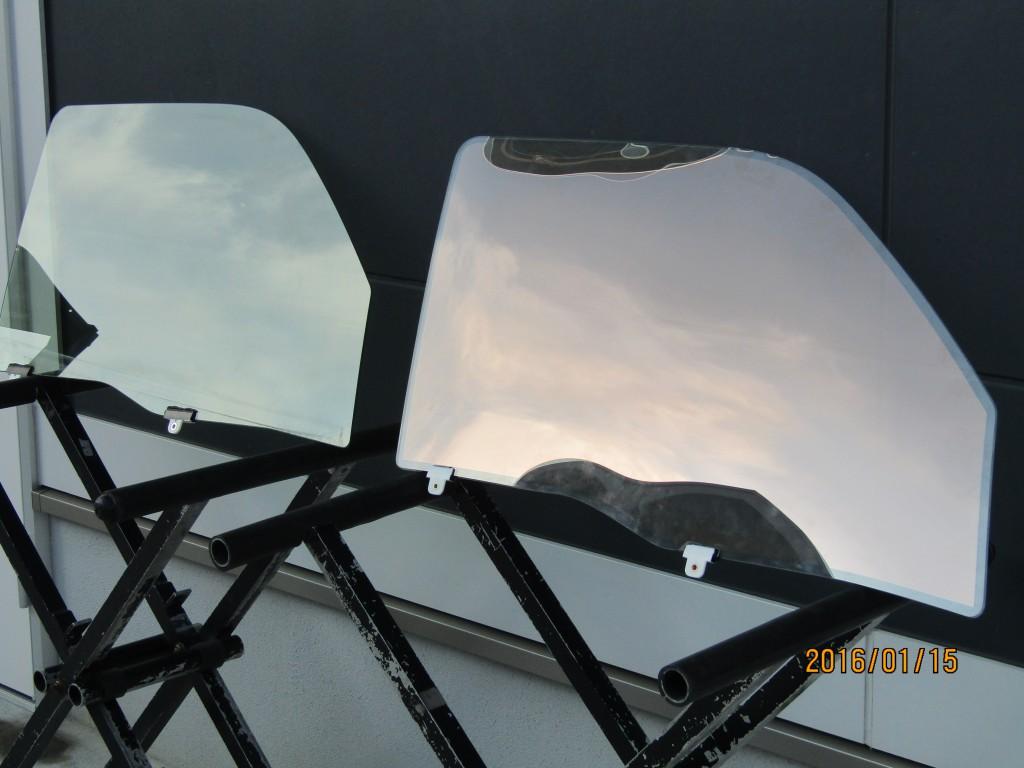 ハイエース用ドアガラス『SOLAR IMPACT』の雑誌撮影がありました。