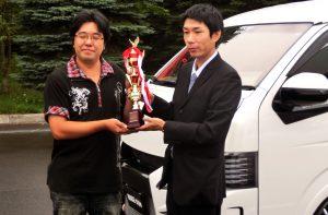 フォトコンテストグランプリの表彰をいたしました