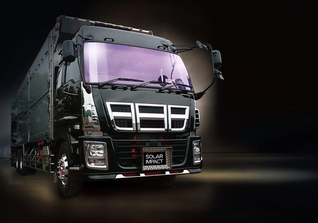 大型トラック用 開発中止となりました。